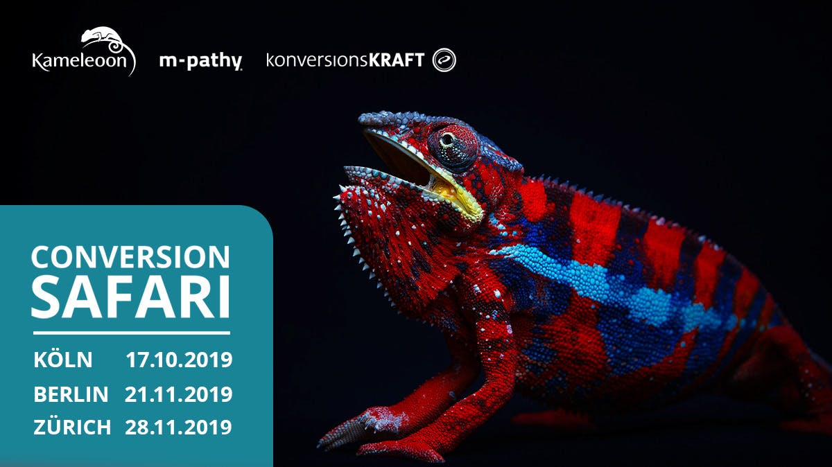 Conversion-Safari 2019: Die DACH-Roadshow zum Thema Conversion-Rate-Optimierung