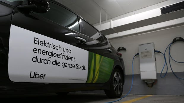 Uber Green bietet emissionsfreie Fahrten jetzt auch in Berlin an