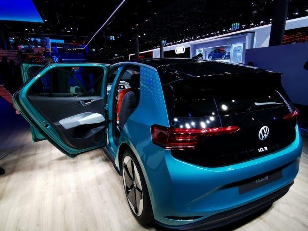 Der VW ID3 ist der erste vollvernetzte Stromer aus Wolfsburg. (Foto: t3n)