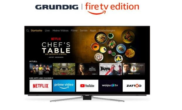 Amazon Grundig Fire TV. (Bild: Amazon)