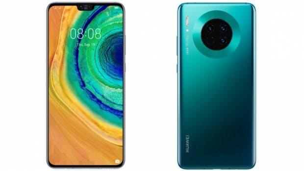 Huawei Mate 30 Leak. (Bild: Evleaks)