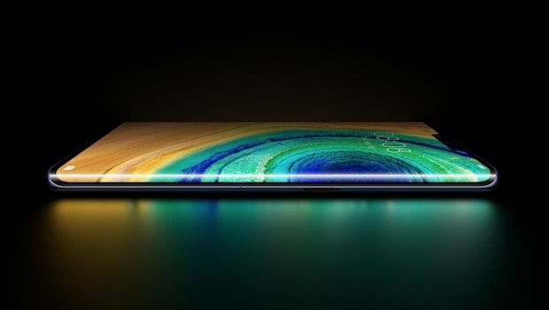 Mehr Display beim Huawei Mate 30 Pro. (Bild: Huawei)