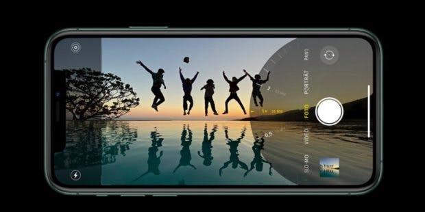 iPhone 11 Pro und Max mit neuer Kamera-App. (Screenshot: t3n)