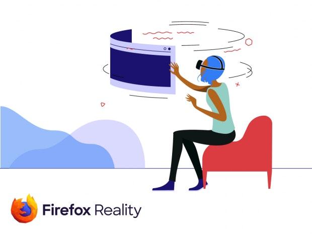 Mozillas Firefox Reality Browser für AR und VR. (Bild: Mozilla)