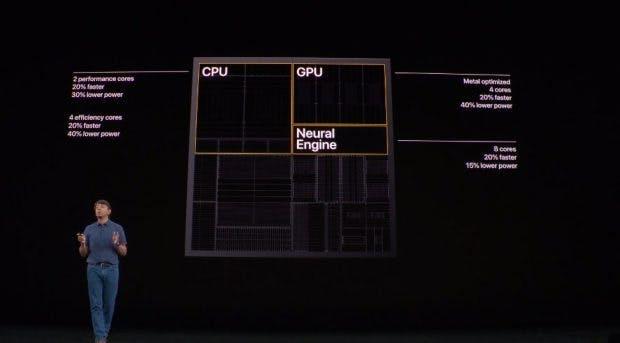 Alle iPhone-11-Modelle kommen mit neuem A13-Bionic-Chip. (Screenshot: t3n)