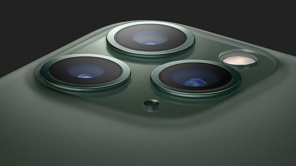Das iPhone 11 Pro (Max) hat eine Tripl-Cam verbaut. (Bild Apple)