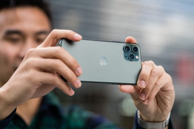 iPhone 11 Pro im Test bei Mashable. (Foto: Mashable)