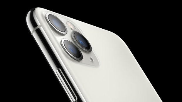 iPhone 11 Pro in Silber. (Bild: Apple)