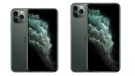 iPhone 11 Pro und 11 Pro Max in Nachtgrün. (Bild: Apple)