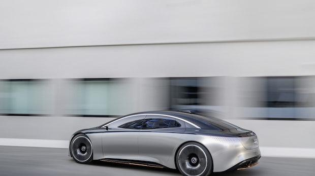 Mercedes Vision EQS: So stellt sich der Hersteller die mobile Zukunft vor