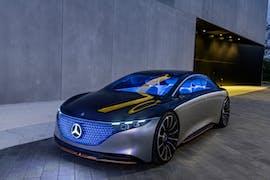 Der Vision EQS. (Foto: Mercedes-Benz)
