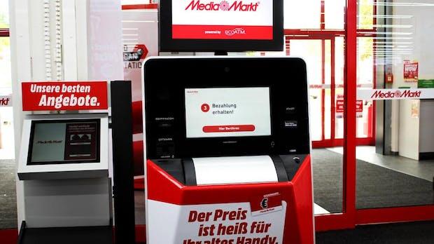 Nachhaltigkeit: Media Markt stellt Automaten zum Handyankauf auf