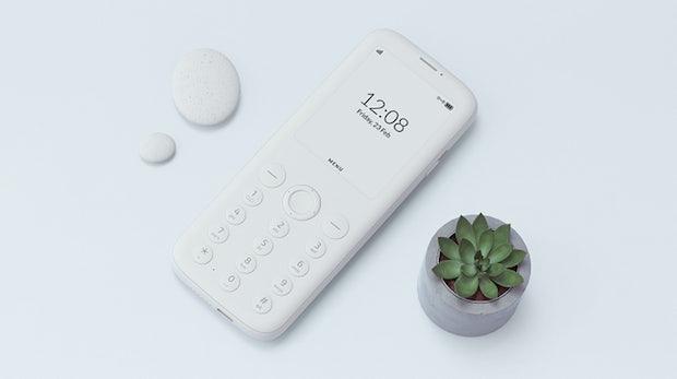 Mudita Pure: Minimalistisches Handy mit E-Ink-Display und 14 Tagen Standby-Zeit