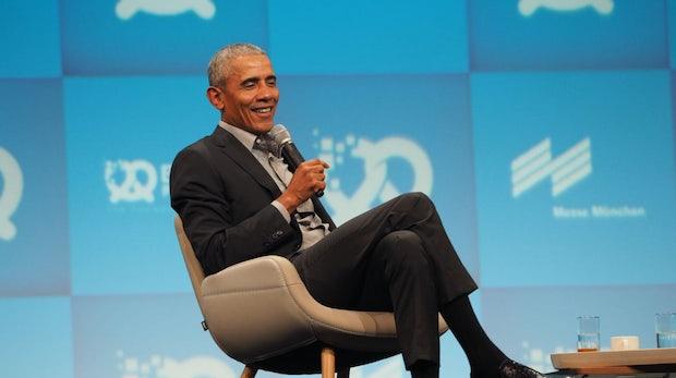 """Obama bei Bits & Pretzels: """"Diversity ist kein Akt der Nächstenliebe"""""""