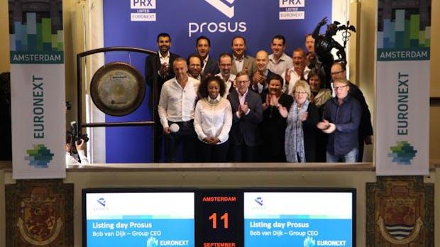 Fulminanter IPO: Naspers-Ausgründung Prosus jetzt wertvoller als Shell