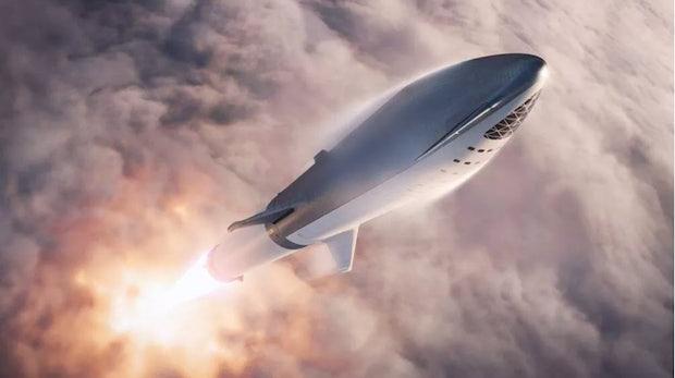 SpaceX-Chef Elon Musk stellt Prototyp des Starship MK1 offiziell vor