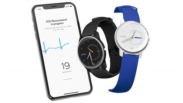 Move ECG: Neue Withings-Uhr kann EKG aufzeichnen