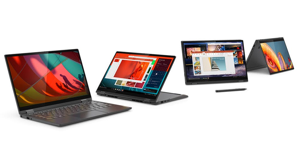 Yoga: Lenovo zeigt neue Generation der 2-in-1-Convertibles
