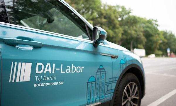Autonomes Fahren in Berlin: Straße des 17. Juni wird zur Teststrecke