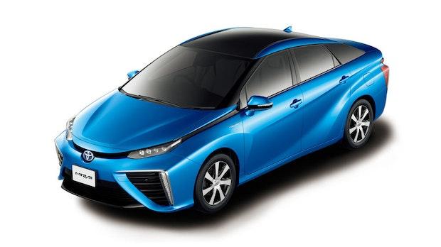 Brennstoffzelle: Neue Generation des Toyota Mirai kommt 2020