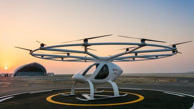 Volocopter: Flugtaxi startet in Stuttgart