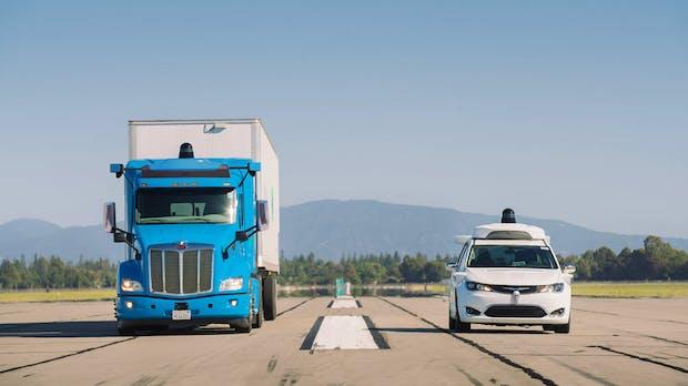 Googles Waymo will autonomen Trucks zum Erfolg verhelfen