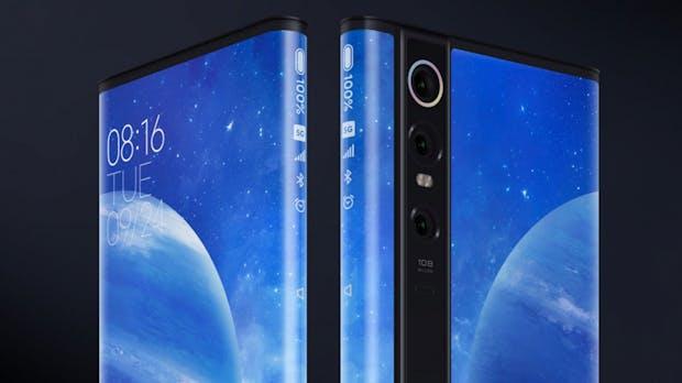 Xiaomi Mi Mix Alpha: Dieses Smartphone besteht fast nur aus Display