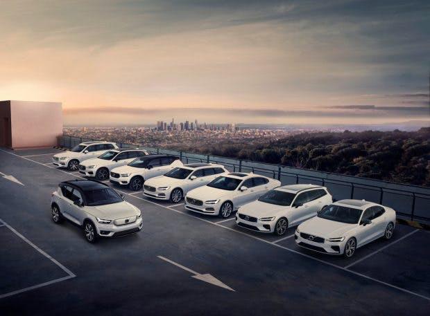 Volvos Modellpalette soll durchgängig elektrifiziert werden. (Foto: Volvo)