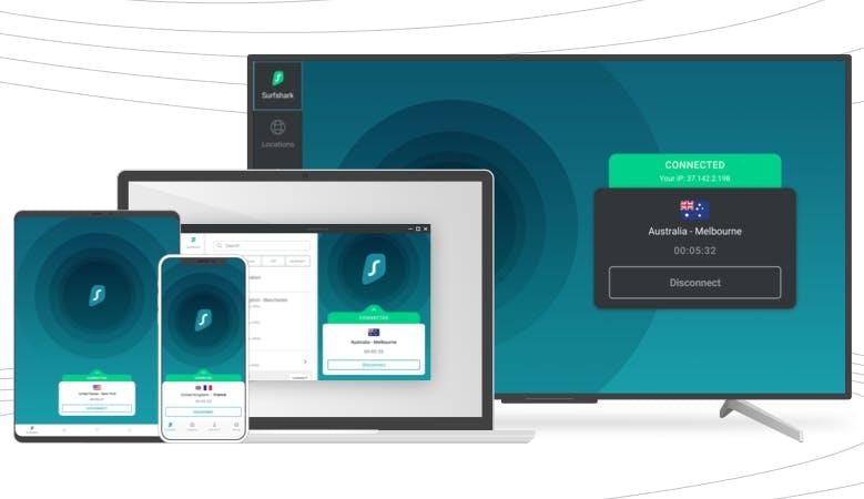 Privatsphäre im Internet dank VPN. (Foto: Surfshark)