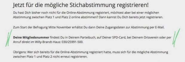 Screenshot: SPD