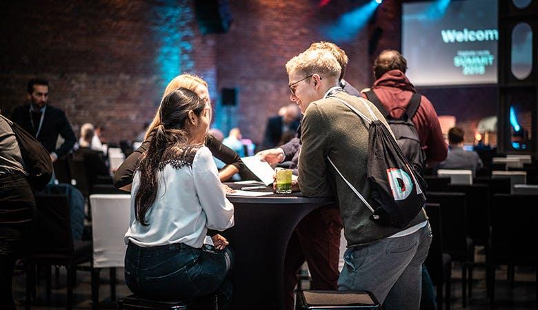 Networking auf der DL-Summit. (Foto: Digitale Leute)