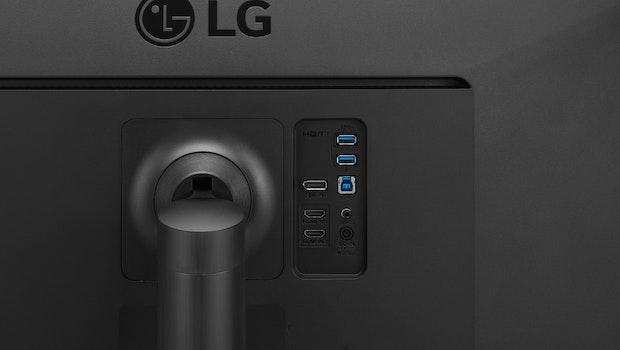 Der LG-Monitor 34WL85C. (Bild: LG)