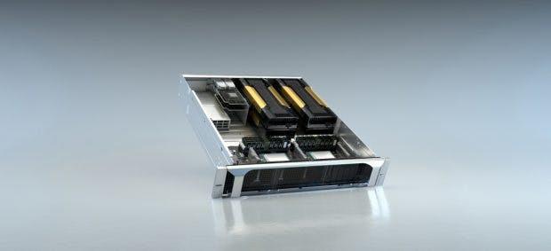 Nvidias EGX-Supercomputer.
