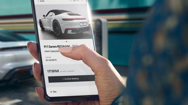 Porsche steigt ins Onlinegeschäft ein