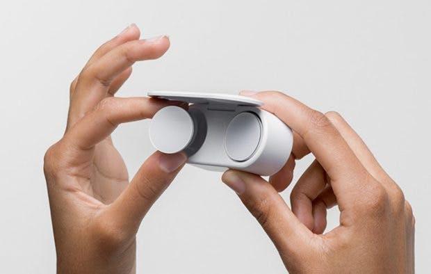 Die Surface Earbuds. (Bild: Microsoft)