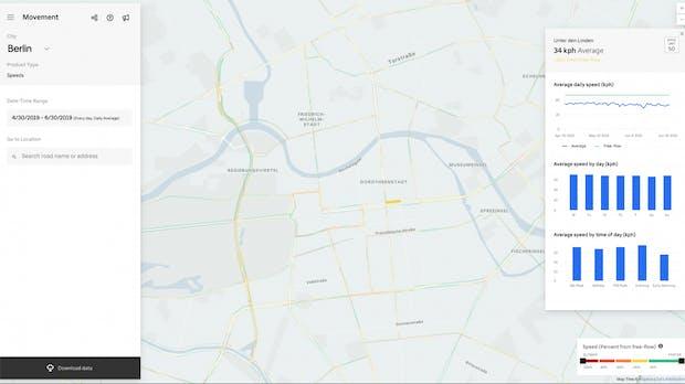 Uber stellt Verkehrsdaten für Großraum Berlin zur Verfügung