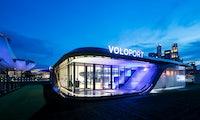Prototyp: Volocopter zeigt ersten Flugtaxi-Bahnhof der Welt