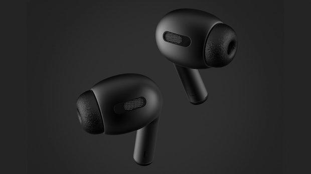 Airpods Pro: So sollen Apples True-Wireless-Headphones mit Geräuschunterdrückung aussehen
