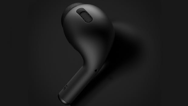 Airpods Pro – so sollen Apples True-Wireless-Headphones aussehen. (Bild: Phone Industry)