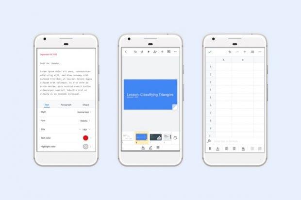 G-Suite für Android mit Redesign. (Bild: Google)