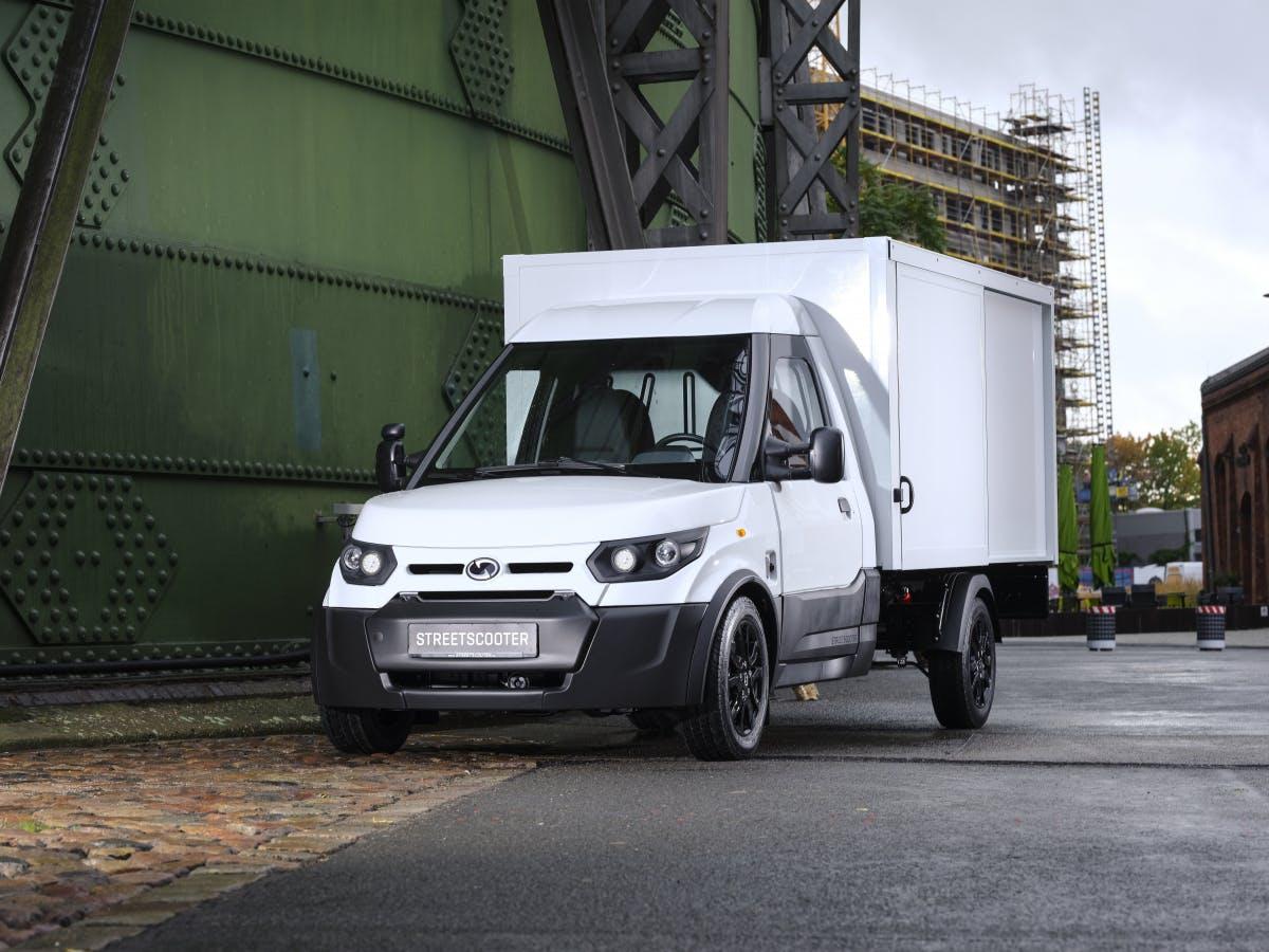 Streetscooter zeigt neue Versionen seiner Elektrofahrzeuge Work und Work L
