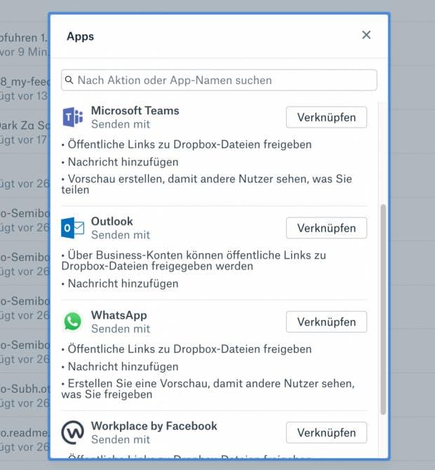 So sieht der Dialog bei der erstmaligen Verwendung der neuen Extensions aus. (Screenshot: t3n.de)