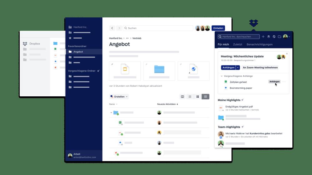 Whatsapp, Outlook und mehr: Dropbox führt weitere Extensions für Drittanbieter ein