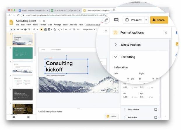Anfang 2019 hatte die Webversion des G-Suite ein Redesign erhalten. (Bild: Google)