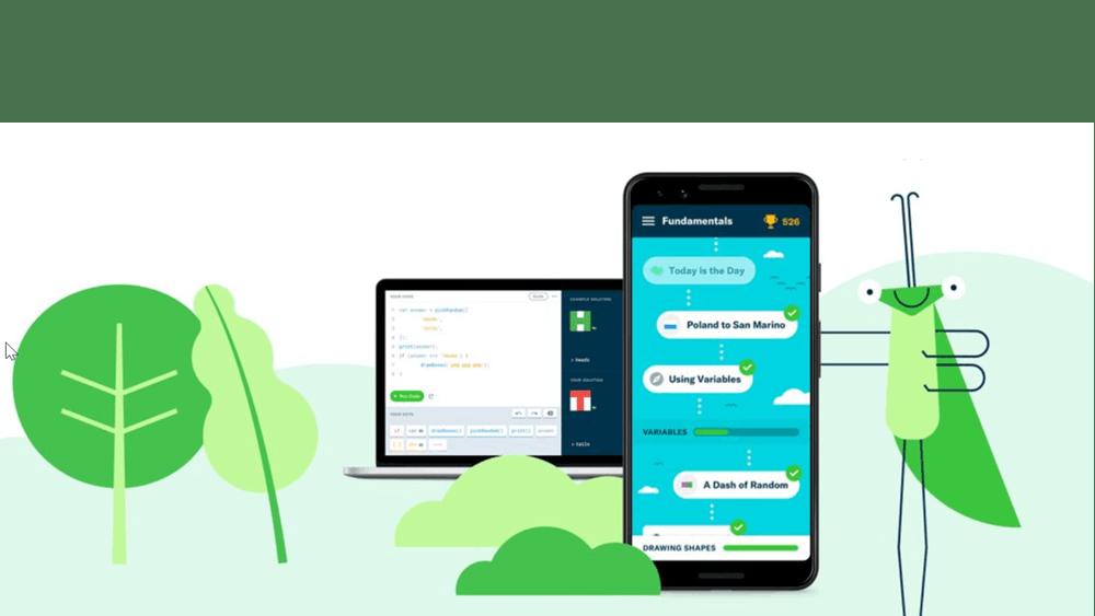 Endlich coden lernen: Googles Grasshopper-Programm für Anfänger gibt es jetzt als Web-App