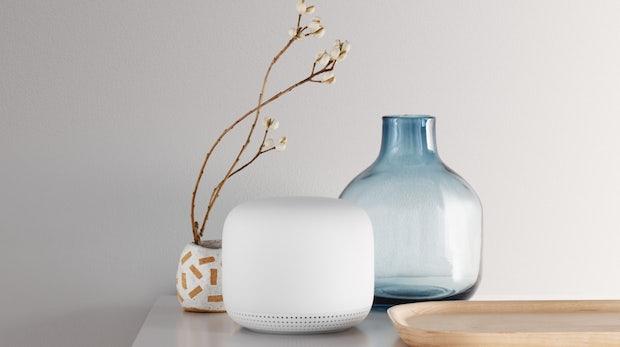 Nest Wifi: Mesh-WLAN-Router mit Google-Assistant-Smartspeaker