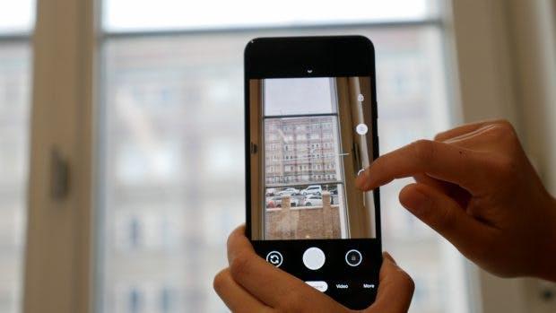 Google Pixel 4 mit Dual Exposure-Funktion. (Foto: t3n)