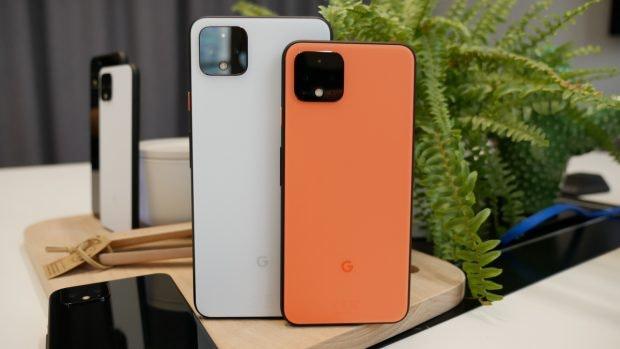 Google Pixel 4 und XL im Test. (Foto: t3n)