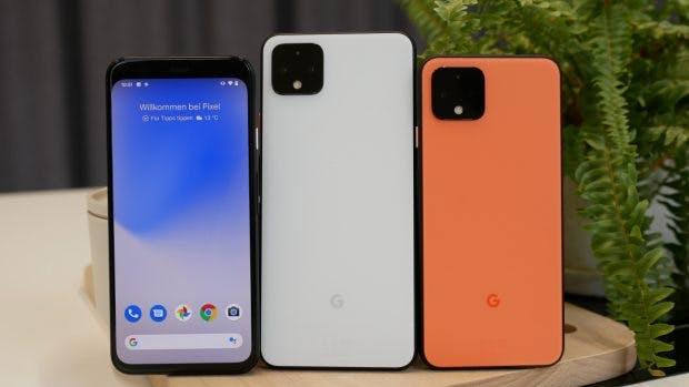 Google Pixel 4 und 4 XL. (Foto: t3n)