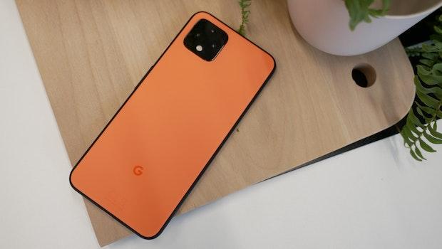 """Google Pixel 4 in """"Oh so Orange"""". (Foto: t3n.de)"""